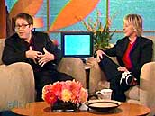 Spader interviewed on the Ellen Degeneres Show [10/28/2004]