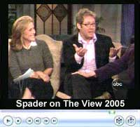 James Spader on 'The View', Sept. 27, 2005